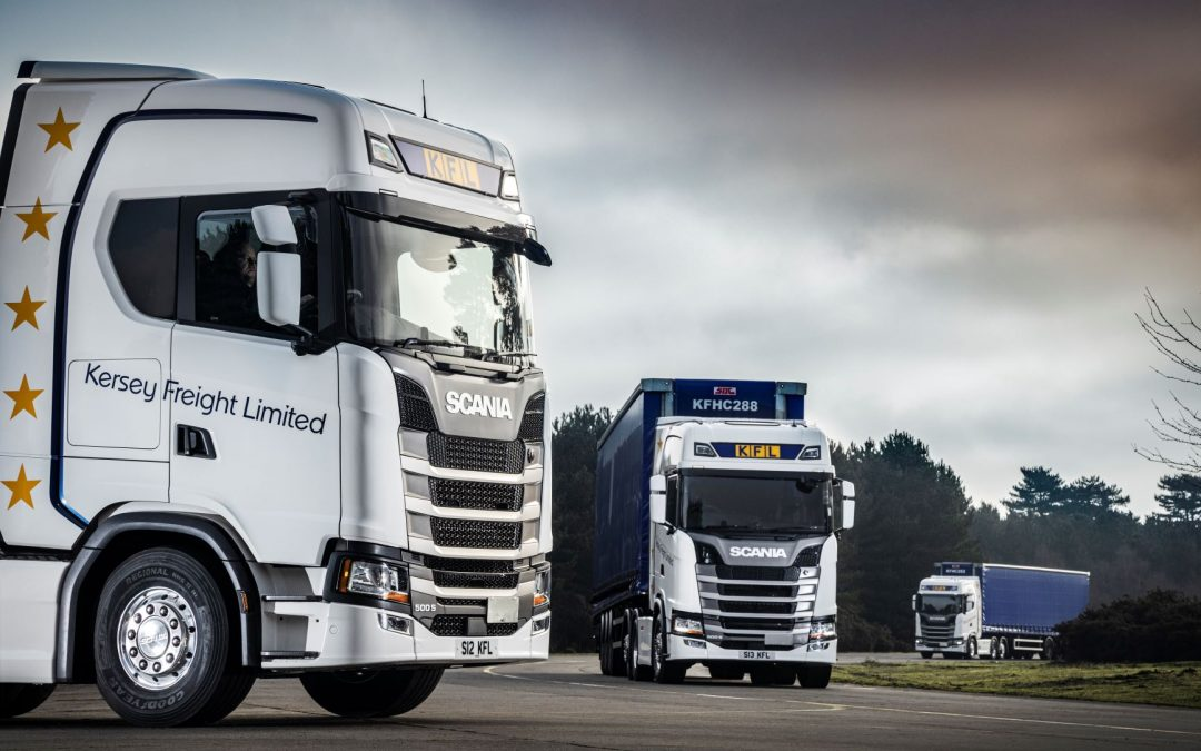 2021 sees Kersey Freight invest in 18 new Scania trucks