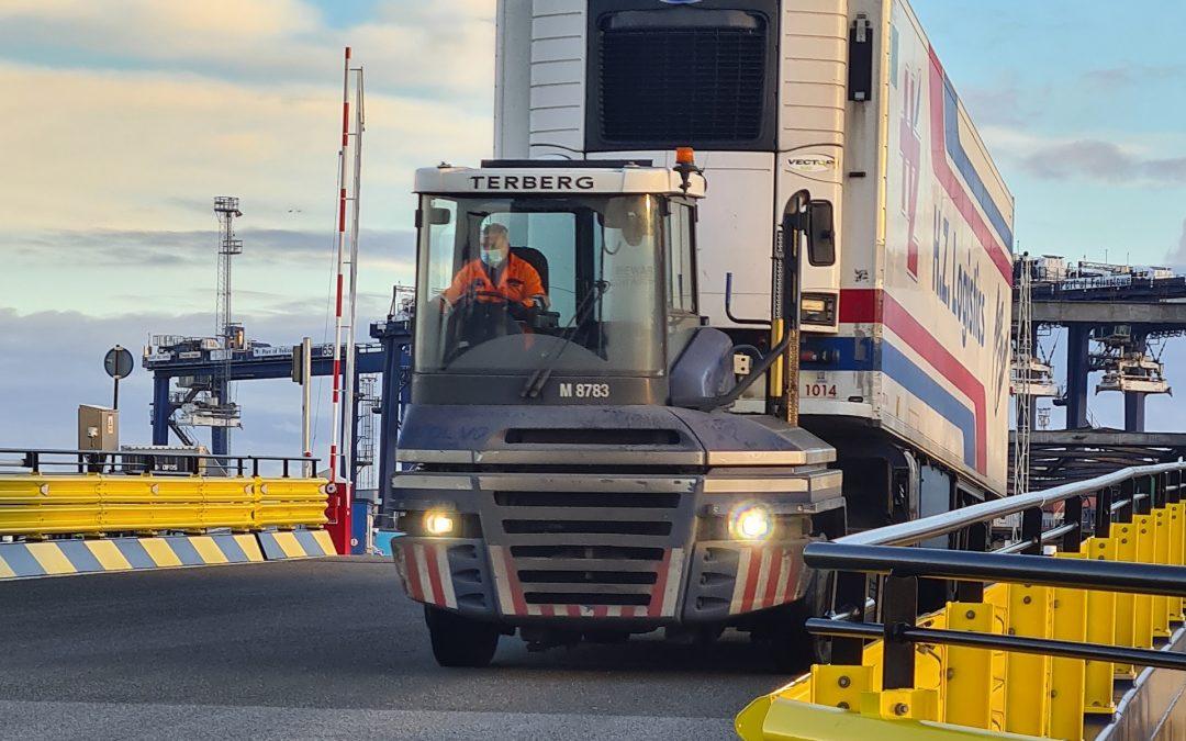 Port of Felixstowe Ro/Ro Upgrade Complete