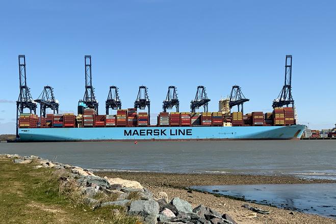 Enhanced Deep-Water berth for Port of Felixstowe