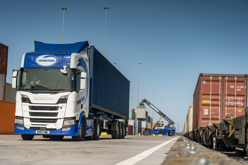 Maritime Transport celebrates first anniversary of East Midlands terminal