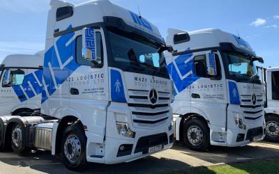 Maze Logistic Solutions Progresses Fleet Investment Programme