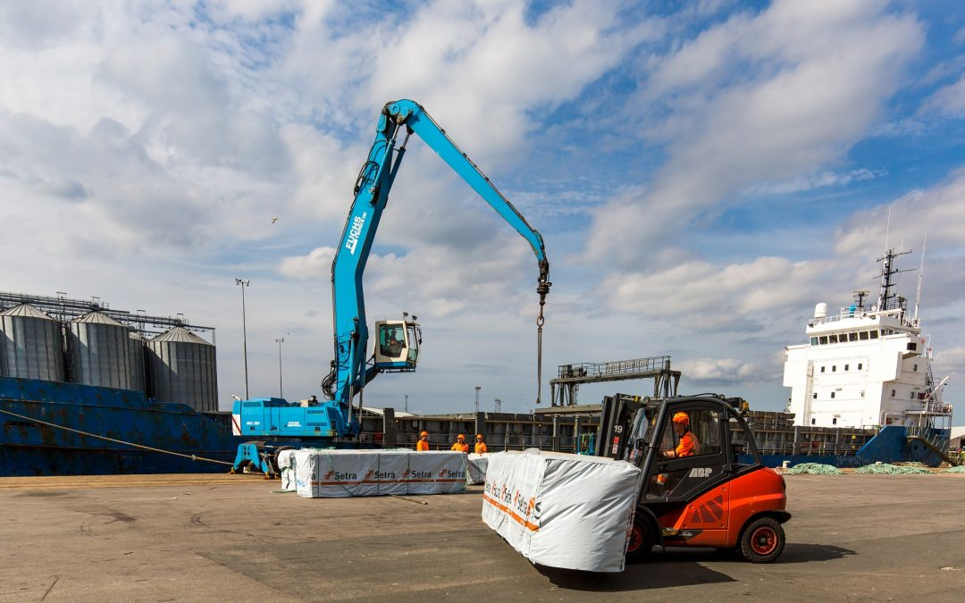 The Port of King's Lynn sees timber volumes double