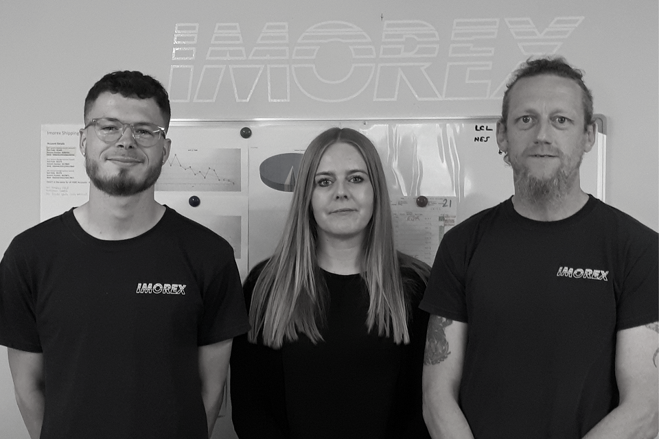 Imorex launch new clearance department