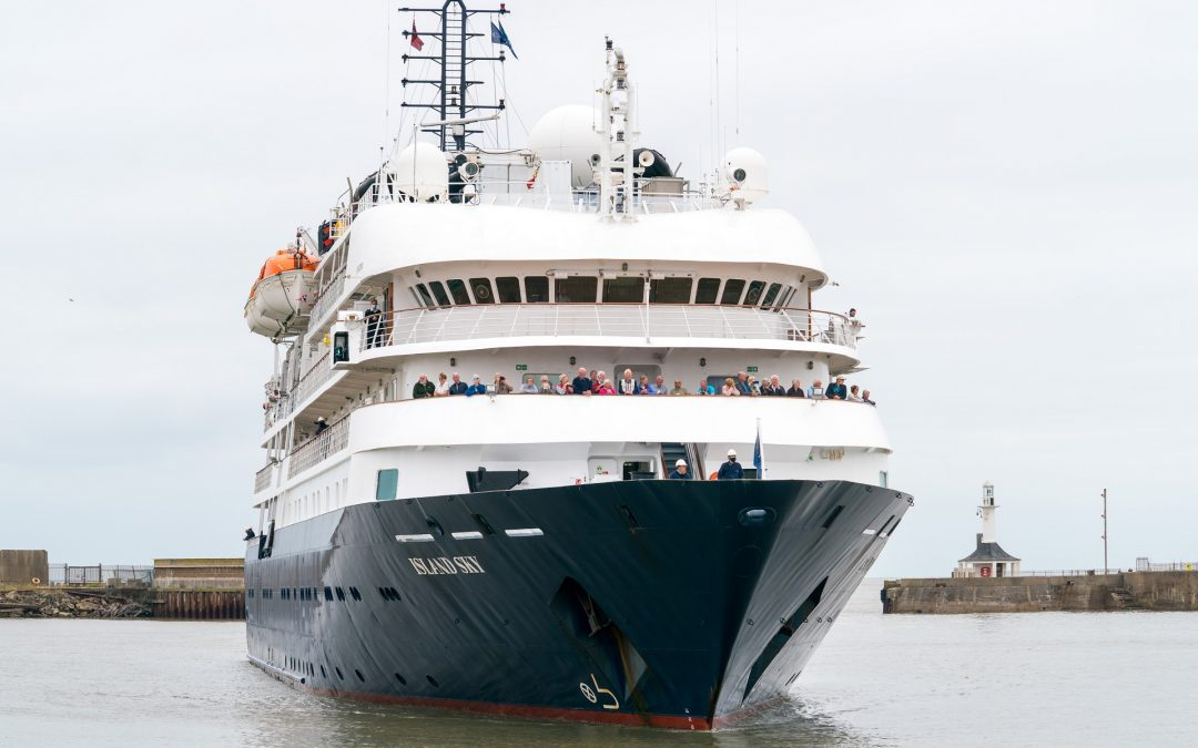 Maiden call of luxury cruise ship to ABP's Port of Lowestoft